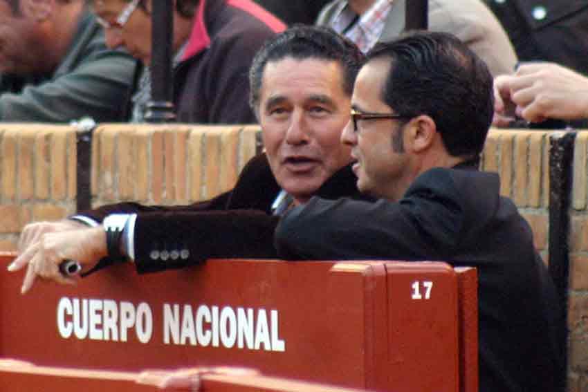 El diestro sevillano José Antonio Campuzano, que no estaba en su sitio.
