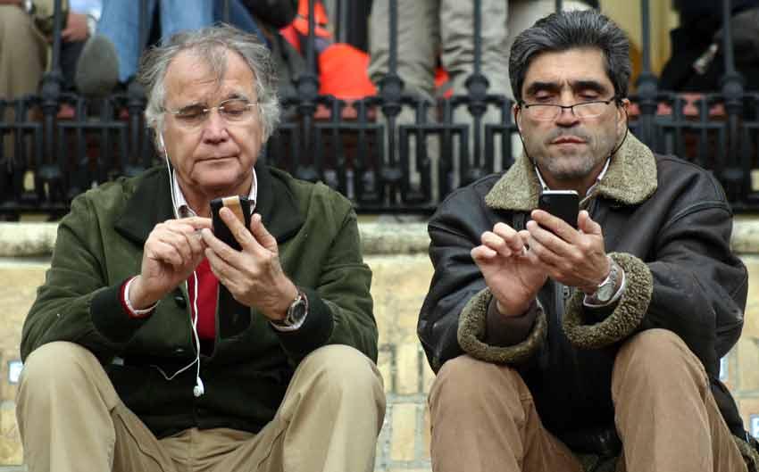 Manuel Luque, Emilio Muñoz... y la puesta al día en tecnología.