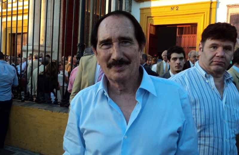 El periodista taurino Manolo Molés.