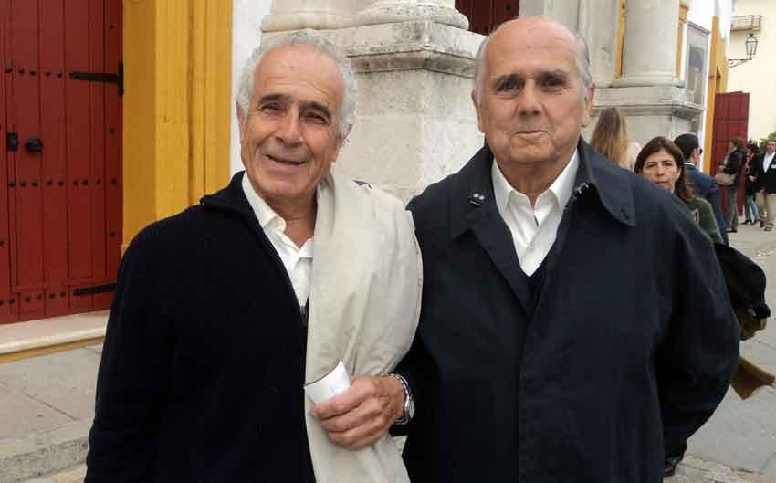 Paco Martín Sanz y Joaquín Armero.