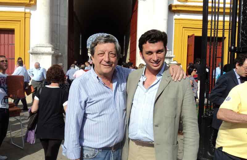 Paco Pablo Peralta y su primo Rafael Peralta.