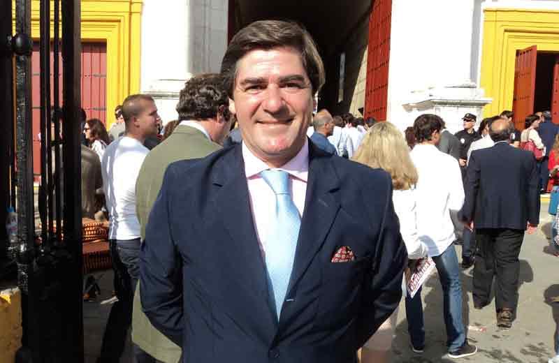 El diestro sevillano Martín Pareja Obregón.