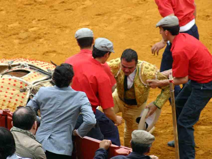 El picador Antonio Muñoz.