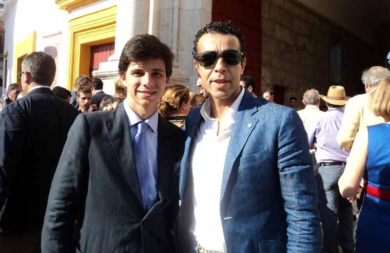 Carlos Corradini y Víctor Puerto.