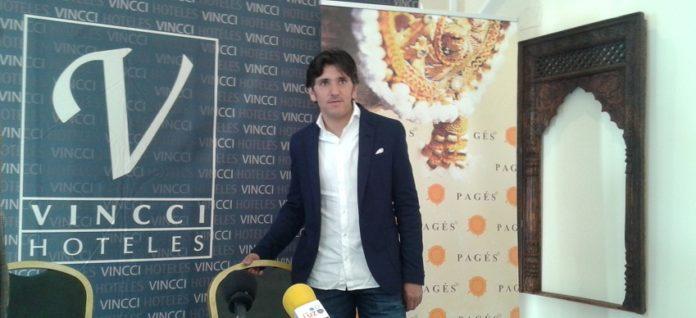 Diego Ventura en el encuentro celebrado hoy en Sevilla. (FOTO: Sevilla Taurina)