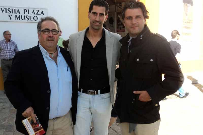 García-Baquero, Martín Núñez y Jorge Buendía.
