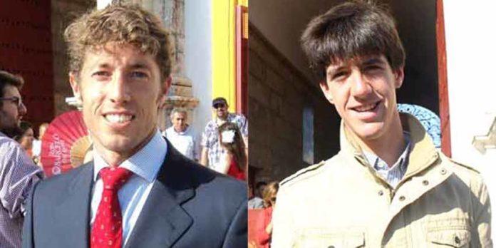 Los sevillanos Manuel Escribano y Esaú Fernández. (FOTOS: Javier Martínez)