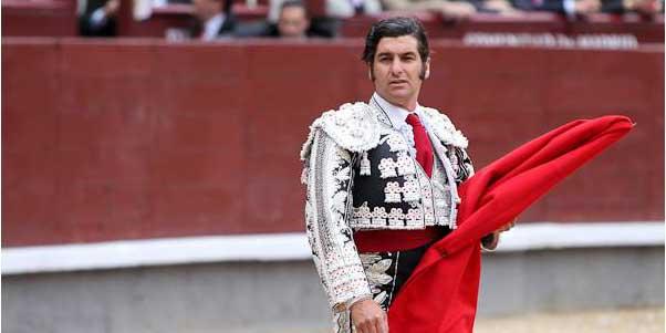 Morante de la Puebla, esta tarde en Madrid. (FOTO: las-ventas.com)