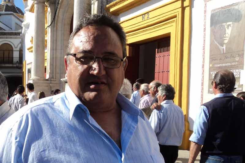El banderillero Pedro Santiponce.
