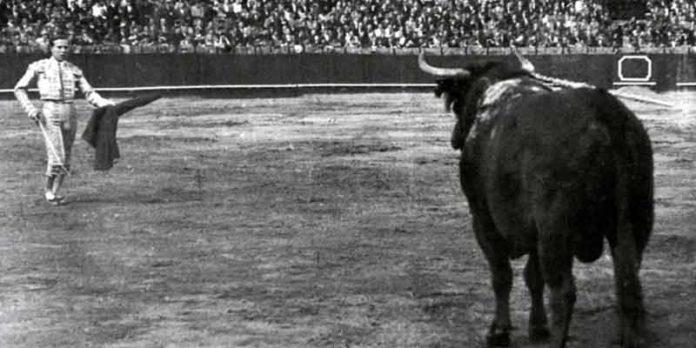 Pepe Luis y la naturalidad de su 'cartucho de pescao' en la Maestranza.