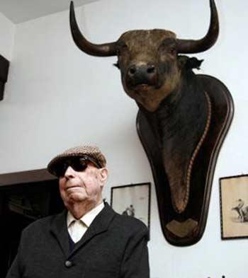 Pepe Luis Vázquez, en su casa sevillana hace un año. (FOTO: Diario de Sevilla)
