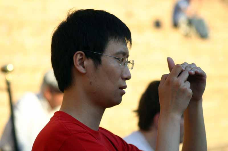 Los turistas nipones y sus cámaras siguen asistiendo en buen número.