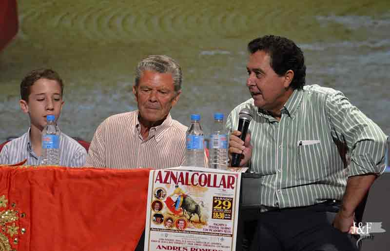 Acto de presentación del festival.