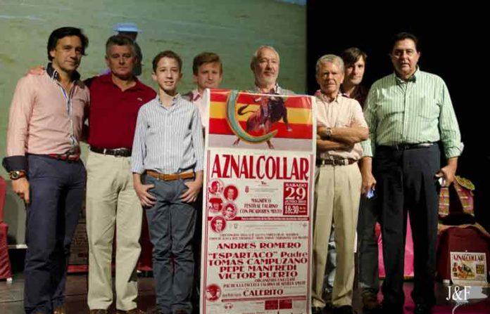 Acto de presentación del festival de Aznalcóllar. (FOTO: Juan Jiménez)