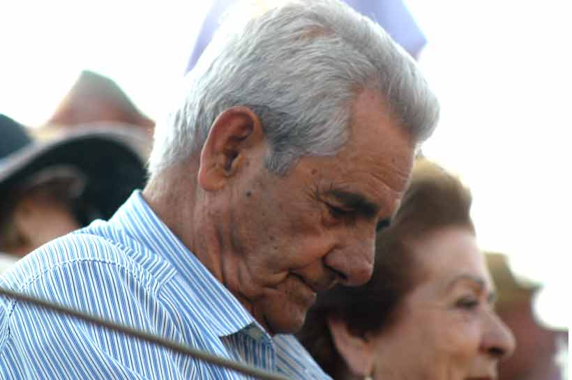 Uno de los mejores picadores: Ambrosio Martín.