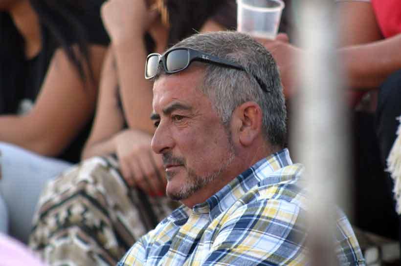 El picador local, Manuel Martín Ojeda, también asistió al festejo de su pueblo.