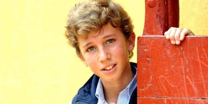 El joven novillero Juan Pedro García 'Calerito'. (FOTO: Javier Martínez)