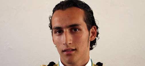 El novillero sevillano Daniel Muñoz.