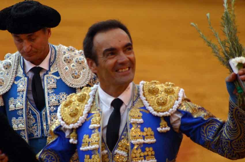 Manuel Jesús 'El Cid', vuelta al ruedo en el cuarto.