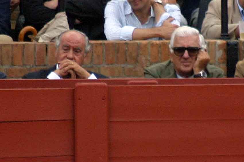 Ramón Valencia y Santiago Herrero, presidente de los empresarios andaluces.
