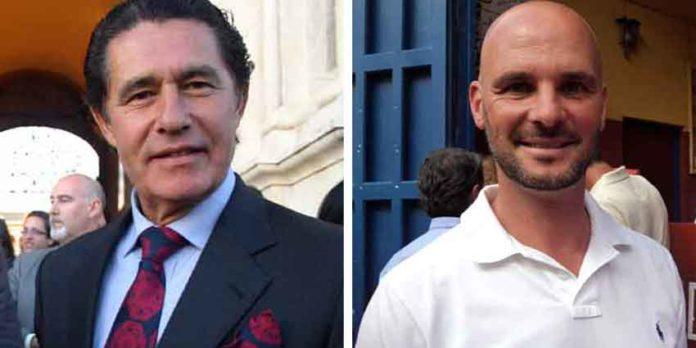 Los sevillanos José Antonio Campuzano y José Luis Peralta. (FOTOS: Javier Martínez)