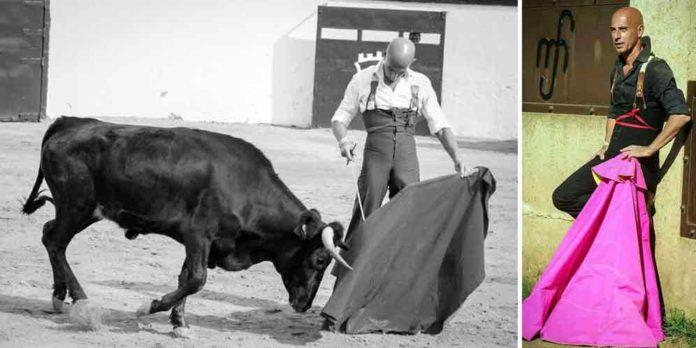 Joaquín Díaz 'Cuqui de Utrera' en su última preparación en el campo antes de su reaparición en Pachuca el domingo.