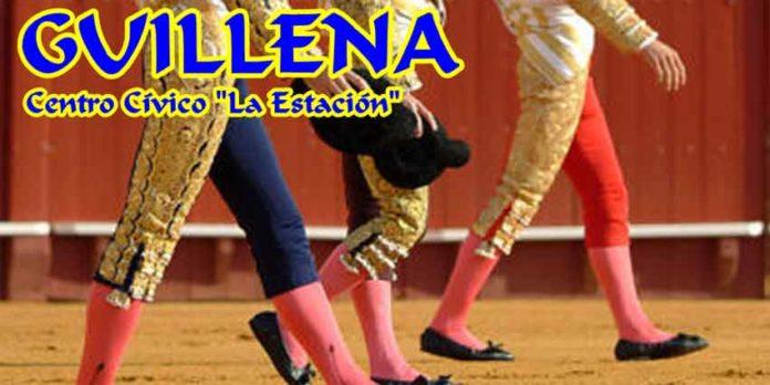 Cartel anunciador de las charlas de mañana jueves en Guillena.