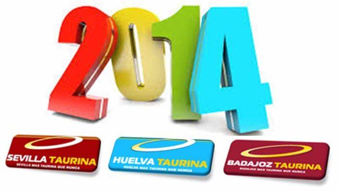 El equipo de nuestros portales SEVILLA TAURINA, BADAJOZ TAURINA y HUELVA TAURINA le desea Feliz Año Nuevo 2014.