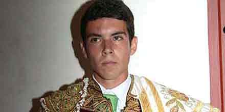 El novillero sevillano Juan Solís 'El Manriqueño'.