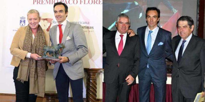 El Cid, recogiendo los dos premios en El Puerto.