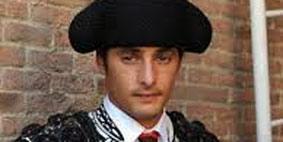 El novillero sevillano Mario Diéguez.