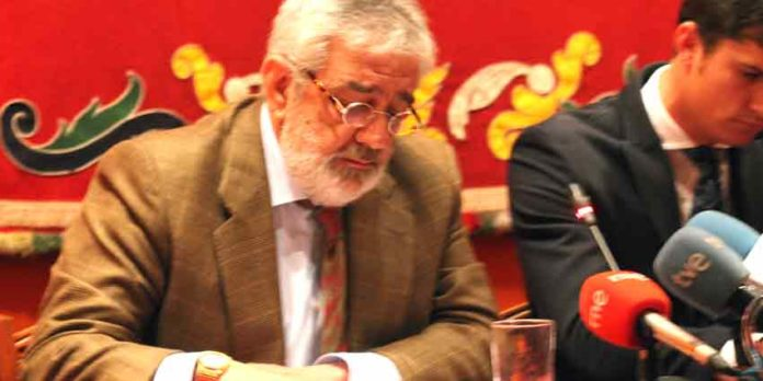 Eduardo Canorea, en la presentación de carteles. (FOTO: Javier Martínez)