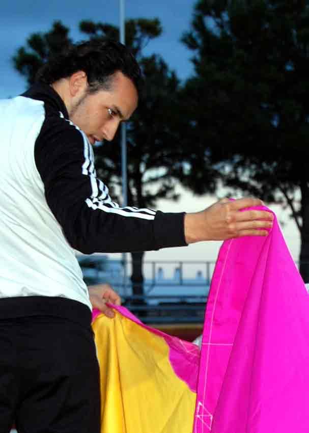 Daniel Muñoz seguía entrenando tras atender la entrevista de SEVILLA TAURINA. (FOTO: Teresa Carreto)