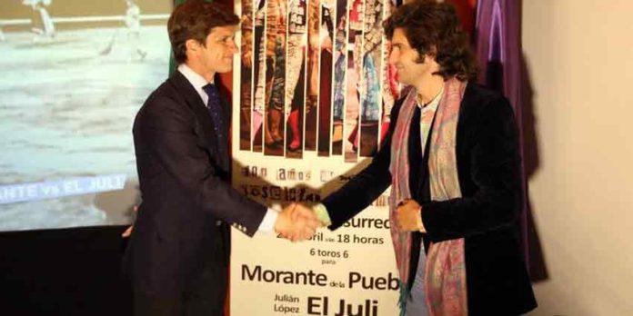 Juli y Morante, mano a mano de auténtico lujo el Domingo de Resurrección en Málaga.