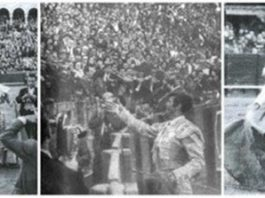 La tarde histórica del rabo que cortó El Cordobés en la Maestranza en 1964, hace 50 años. (FOTOS: Arjona)