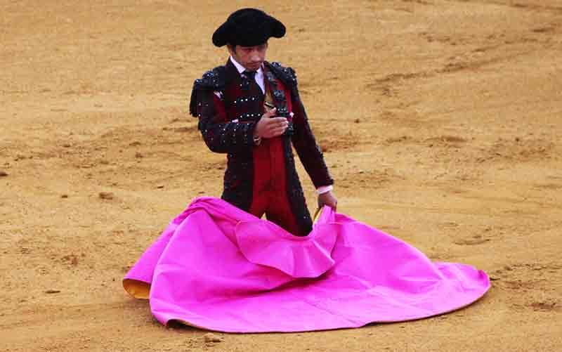El diestro Joselito Adame.