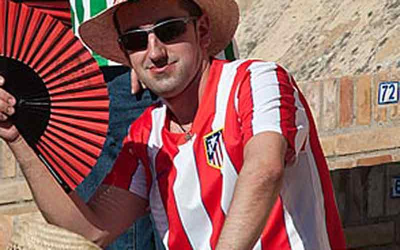 Seguidor del Atlético de Madrid.