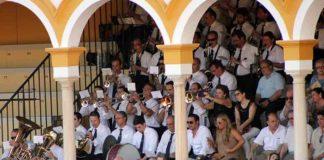 La excelente banda de música del Maestro Tejera, hoy con poco trabajo.