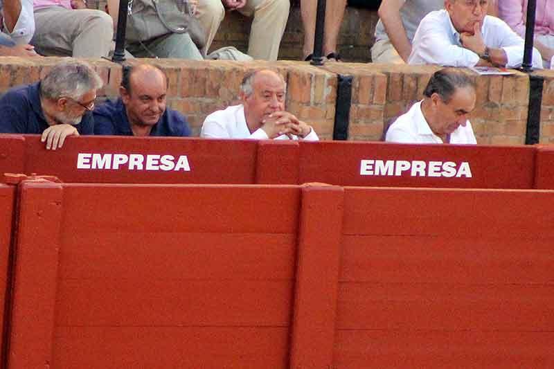 Eduardo Canorea, Manuel Tornay, Ramón Valencia y Ricardo Gallardo.