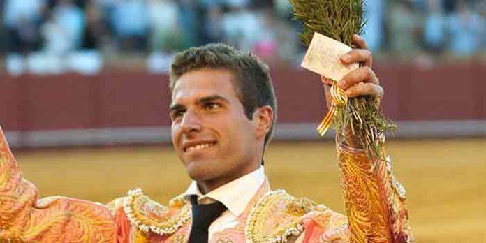 El novillero sevillano Miguel Ángel León. (FOTO: López-Matito)
