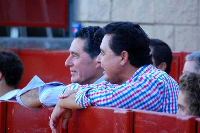 Los hermanos toreros José Antonio y Tomás Campuzano.
