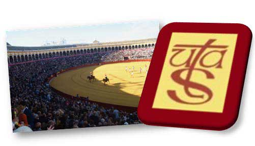Logo de la Unión Taurina de Abonados de Sevilla. (Montaje: SEVILLA TAURINA)