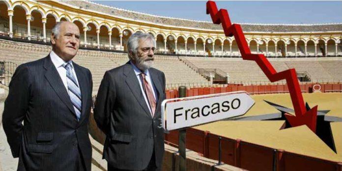 Todo hace indicar que, un año más, la Maestranza seguirá su hundimiento de la mano de Ramón Valencia y Eduardo Canorea.