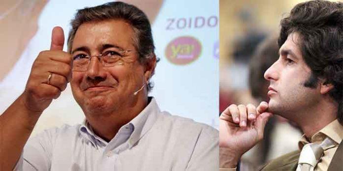 El alcalde de Sevilla, Juan Ignacio Zoido, y el torero sevillano Morante de la Puebla.