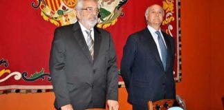 Eduardo Canorea y Ramón Valencia, responsables de la debacle que vive la Maestranza desde hace varias temporadas. (FOTO: Toromedia)