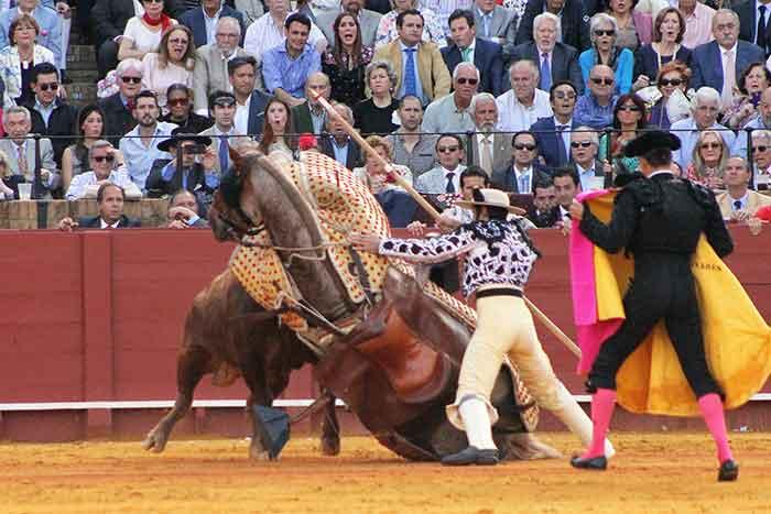 Derribo de José Antonio Barroso.