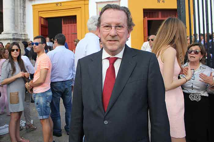 El consejgero de Justicia de la Junta, Emilio de Llera.