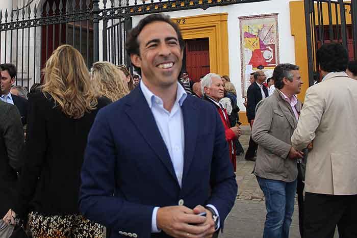 El taurino Enrique Peña.