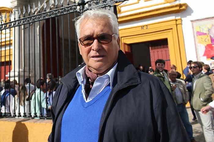 El banderillero y asesor de la presidencia Finito de Triana.