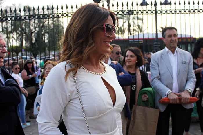 La televisiva Raquel Bollo.